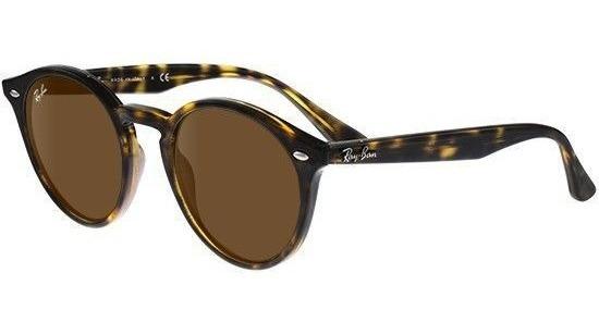 Óculos De Sol Ray Ban Rb2180 Tartaruga Lente Marrom