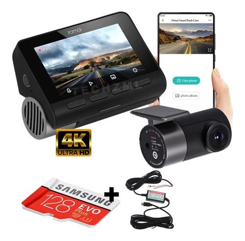 Camera Veicular Automotiva Xiaomi 70mai A800 + 128gb + Cabo
