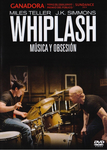 Whiplash Musica Y Obsesion Miles Teller Pelicula Dvd