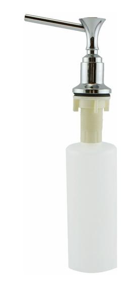 Dosador Dispenser Embutir Em Inox 304 Sabonete E Detergente