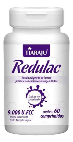 Lactase Redulac Intolerância Lactose 9000 Fcc 60 Comprimidos
