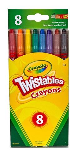 Crayola: Caja X 8 Lápices Twist Tienda Oficial