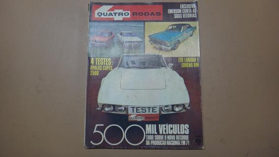 Revistas 4 Rodas Nº 131,133,136,137 De 1971 Completas