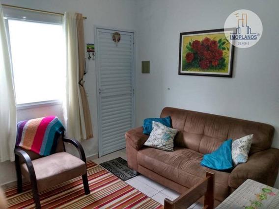 Casa Com 2 Dormitórios À Venda, 53 M² Por R$ 200.000,00 - Campo Da Aviação - Praia Grande/sp - Ca1165