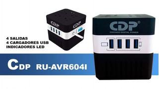 Estabilizador Regulador Ru Avr 604i