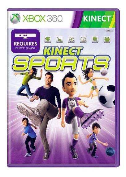 Kinect Sports Xbox 360 Mídia Física Pronta Entrega