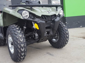 Can-am Outlander 570 Pro L Green Verde Atv - Polaris Smmotos