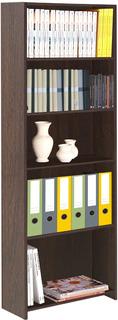 Librero Platinum 5 Niveles Color Tabaco 24-287