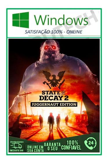 State Of Decay 2: Juggernaut Edition Pc Original