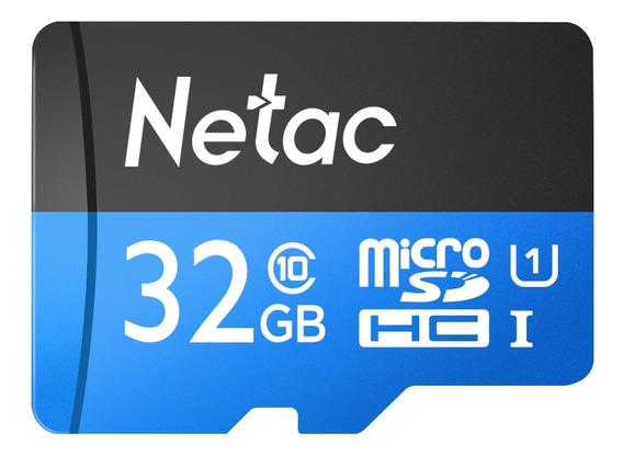 Netac P500 Class 10 32g Micro Sdhc Tf Cart?o De Memória