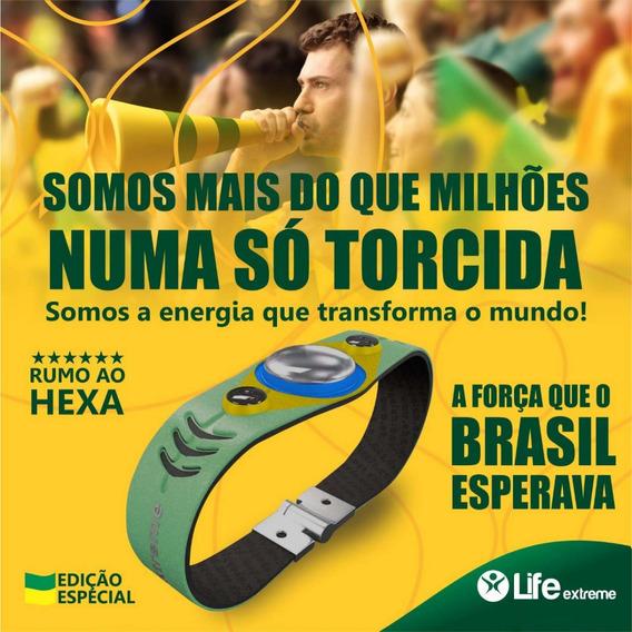 Pulseira Magnetica Life Extreme Edição Limitada Brasil