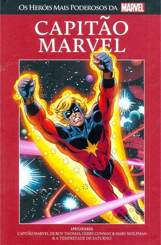 Imagem 1 de 1 de Capitão Marvel Os Heróis Mais Poderosos Da Marvel 14 Salvat