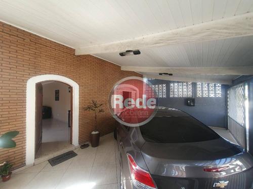 Casa Com 3 Dormitórios À Venda, 309 M² Por R$ 500.000,00 - Vila Maria - São José Dos Campos/sp - Ca2323