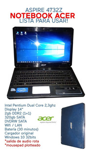 Notebook Acer Aspire 4732z
