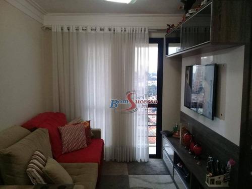 Imagem 1 de 30 de Apartamento Com 2 Dormitórios À Venda, 55 M² Por R$ 430.000,00 - Mooca - São Paulo/sp - Ap2300