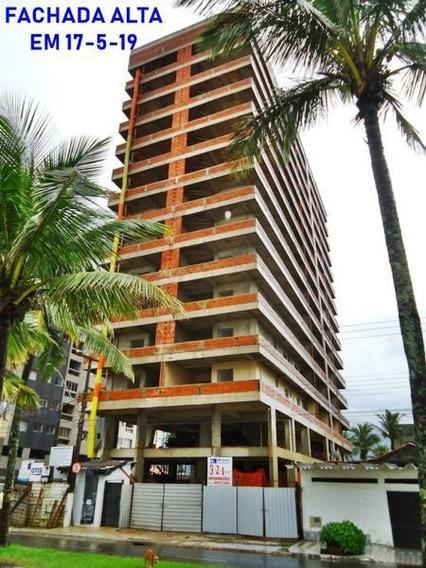 Apartamento 1 Dormitório Para Venda Em Praia Grande, Vila Caiçara, 1 Dormitório, 1 Suíte, 1 Banheiro, 1 Vaga - Ap00061