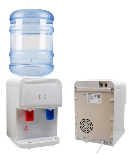Dispenser Agua Fresca O Caliente Para Mesada De Bidon