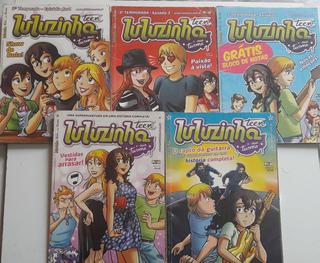 Hq Gibi Luluzinha Teen E Sua Turma, Kit Com 5 Edições