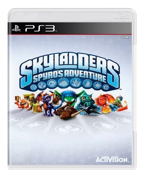Skylanders Spyros Adventure Ps3   Mídia Física Original