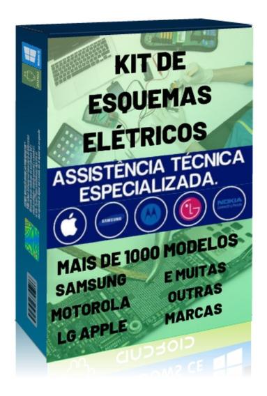 Mega Pacote De 500 Esquemas E Manuais Elétricos De Celular