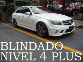 Mercedes Benz C63 Amg 2011 Blindado 4 Plus Blindaje Blindada