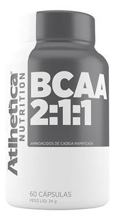 Bcaa 2:1:1 60 Cápsulas - Atletica Nutrition