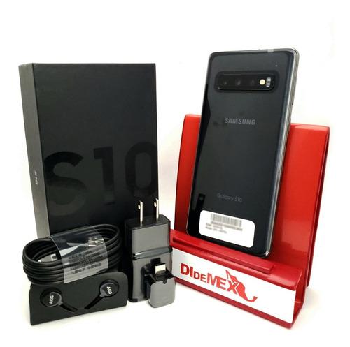 Samsung Galaxy S10 128gb Negro Nuevo En Caja Libre Fabrica