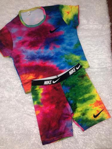 Nuevos Juegos De Crop Top Y Short Tie Dye 4500Talla S Al Xl