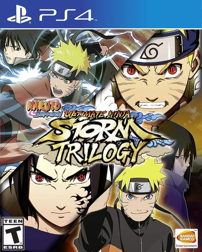 Naruto Ultimate Ninja Storm Trilogia Ps4 Original + Garantía