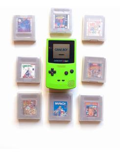 Game Boy Color Kiwi + 8 Juegos