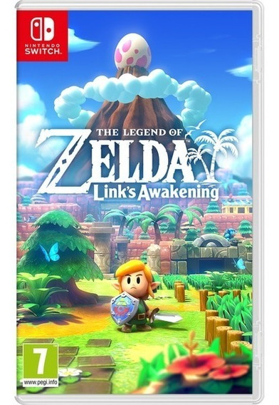The Legend Of Zelda Links Awakening Mídia Física Lacrado