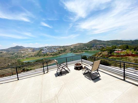 Bella Casa Con Vista Panoramica En La Sexta Seccion Lomas Ve
