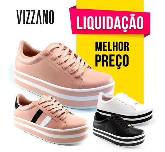 Tênis Feminino Plataforma Vizzano 1298100 Liquidação