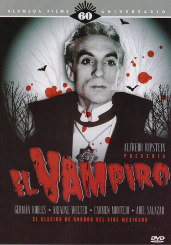 El Vampiro Alfredo Ripstein Pelicula Original Mexicana Dvd
