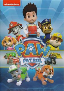 Paw Patrol Patrulla De Cachorros 10 Episodios Serie Dvd