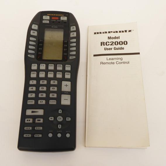 Controle Remoto Universal Marantz Rc-2000 / Rc2000 C/ Manual