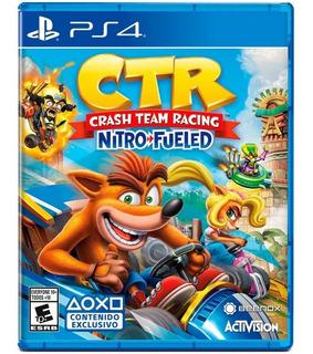 Crash Team Racing Nitro Fueled Ps4-/ Mipowerdestiny