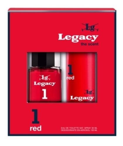 Pack Legacy 1 Red Edt 50ml + Desodorante 150ml