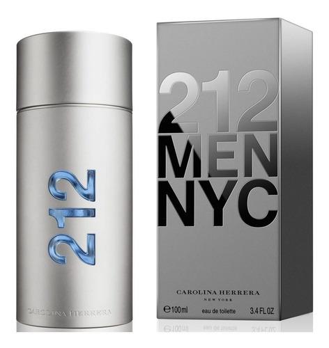 Imagen 1 de 4 de Perfume Importado 212 Men Nyc Edt X 100 Ml