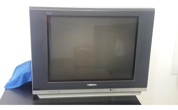 Tv Toshiba Face 29 + Conversor Digital Aquarius