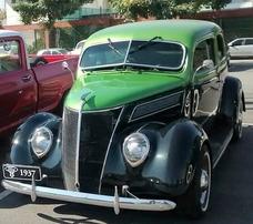 Ford Tudor 1937 Tudor Slantback V8 De Lata
