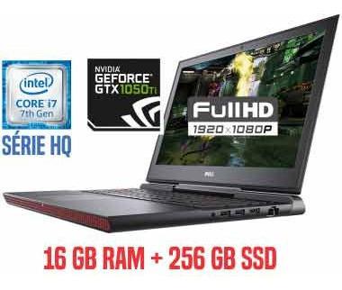 Inspiron I15-dell Gtx 1050ti Core I7-7700h 16gbram Ssd256