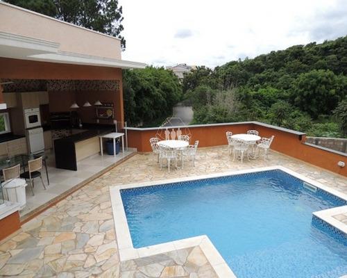Linda Casa Em Condomínio Para Venda Mirante Das Estrelas, Vinhedo - Cc00371 - 32144119