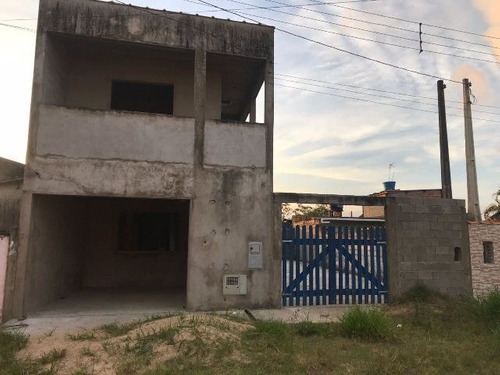 Sobrado Em Itanhaém/sp Com 3 Dormitórios! - Ca256 Lc