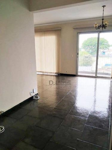 Imagem 1 de 16 de Apartamento À Venda, 116 M² Por R$ 522.000,00 - Jardim Nossa Senhora Auxiliadora - Campinas/sp - Ap18505