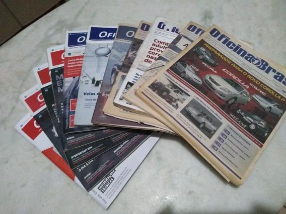Lote Revistas Oficina Brasil Mecânica