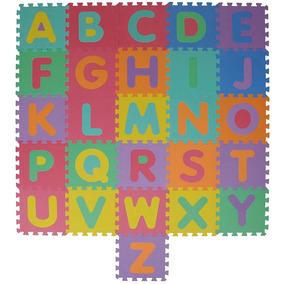 Tapete Infantil Eva Atividades Mor Alfabeto 26 Peças