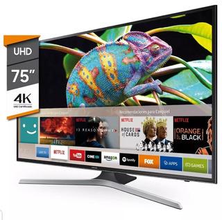 Tv Led Samsung 75 Mu6100 4k Smart