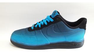Tenis Nike Lunar Air Force 1 Mesh Blue Hero Black Del 29.5mx