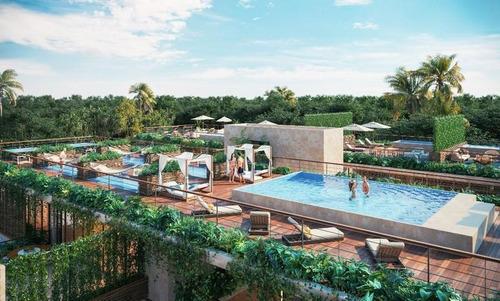 Imagen 1 de 11 de Venta De Departamento En Tulum Amelia Luxury Residences